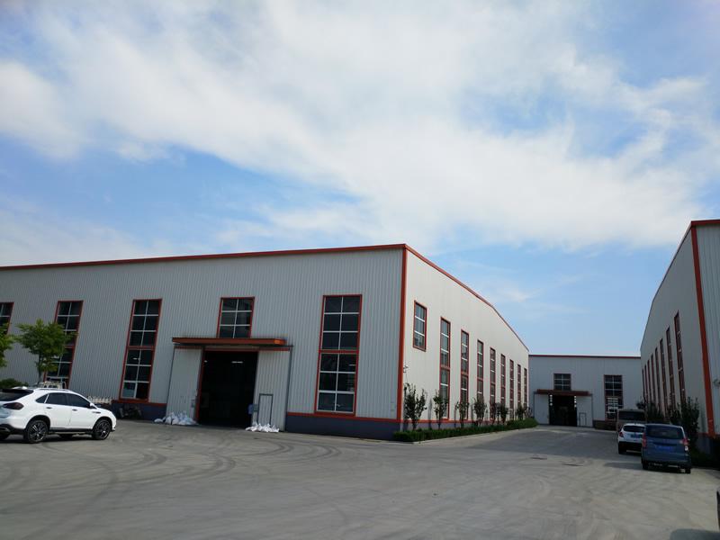 烟台大气的厂区